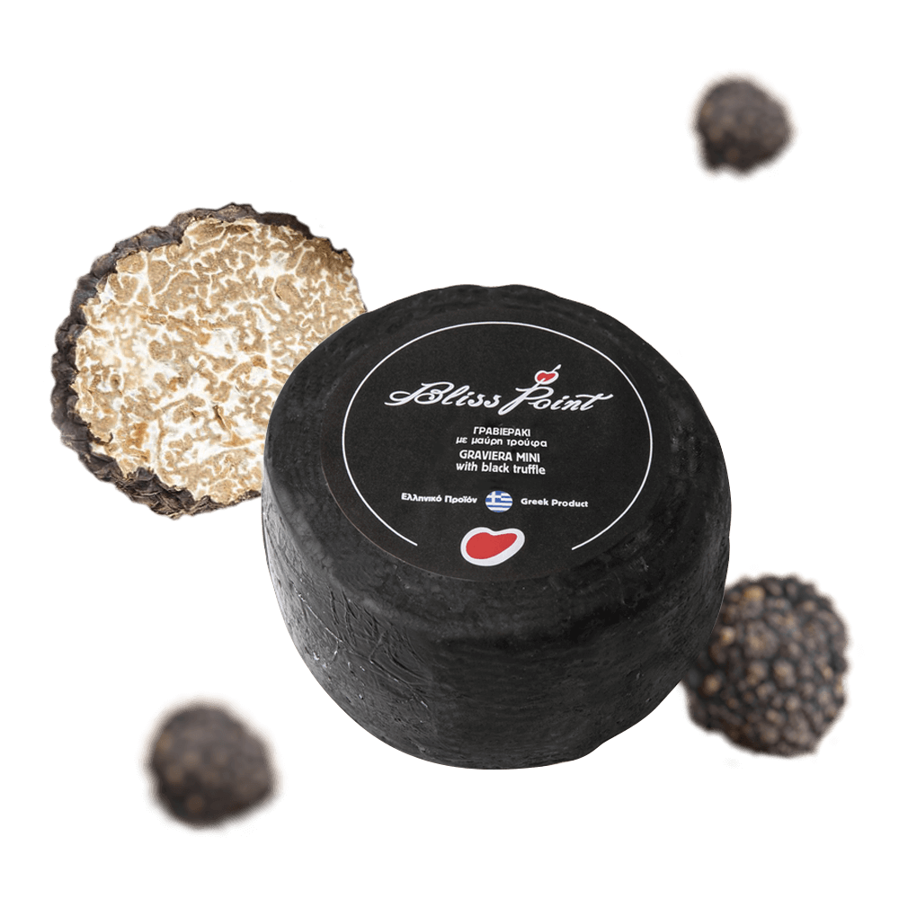 Aged Graviera with Black Truffle